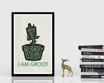 Groot Quote Poster