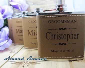 4 Personalized Wedding Flask