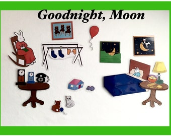 Goodnight Moon For Felt Story Boards
