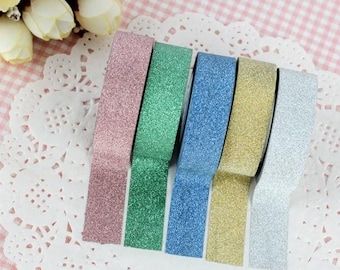 Glitter Washi Tape / Washi Tape / Glitter Tape / Decoration Tape / Masking Tape / Glitter Masking Tape / Shimmery Tape / Washi / Tape