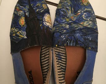 EXAMPLE: Starry Night Shoes