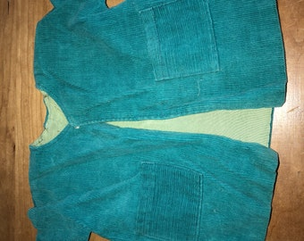 Gorgeous Teal Baby Doll Coat
