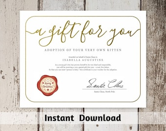 Printable gift certificate gift card template simple rustic gift certificate from santa claus printable christmas gift certificate template gift voucher gift yadclub Images
