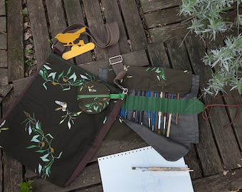 Pronto Pittografo, the bag with brushes for artists