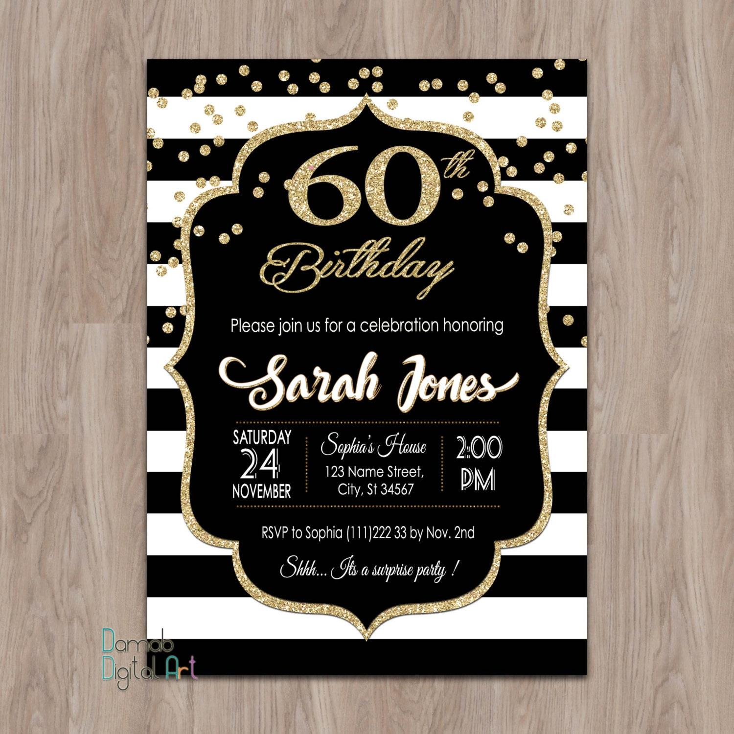 60th birthday invitations 60th birthday invitations for