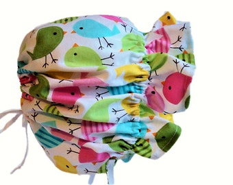 Baby Bonnet, Girl Sun Bonnet, Baby Girl Bonnet, Baby Sun Hat, Toddler Hat, Spring & Summer Bonnet, Cotton Bonnet, Infant, Baby Girl Clothes
