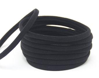 Wholesale Nylon Headbands, Nylon Headbands, Black, Soft Headbands, headbands, One size fits all, Skinny Headbands, Headband supplies