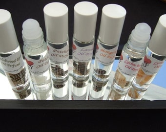 OIL Roll On  / You Choose the Scent to be Created Over 60 Scents to Choose from