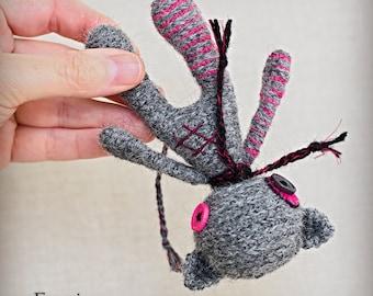 Emmi - Original Handmade Little Cat/Collectable/Gift/Charm