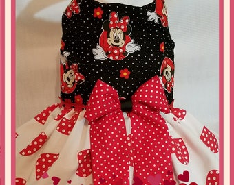 Minnie Mouse dress for dog