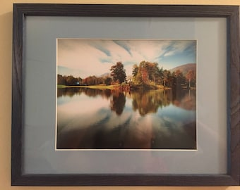 Summer Lake framed photograph