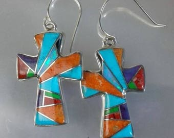 Joyous Wonder Cross Earrings