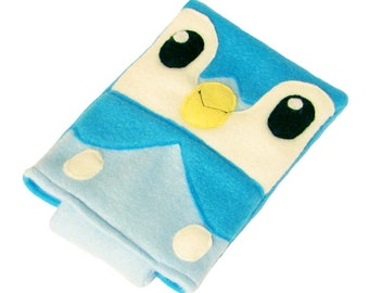 JULY PREORDER 3ds XL Case / Custom Size Pokemon Piplup pouch carrying case new 3ds / 3ds xl / nintendo switch / psp vita holder cozy