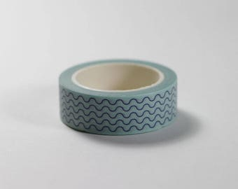 Squiggle Lines Washi Tape