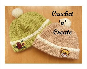 Newborn Beanie Baby Crochet Pattern (DOWNLOAD) CNC02