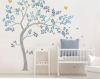 Nursery Tree Stencil Pack   Ideal For Any Nursery Or Childu0027s Bedroom. Inc  Large Tree