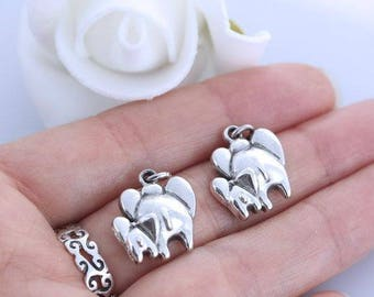 Sterling silver elephant upgrade.