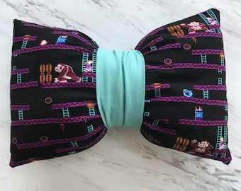 Donkey Kong Bow Pillow