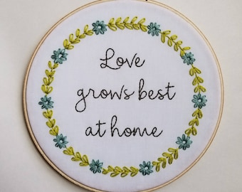 Love grows best at home