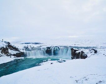 Iceland Photography, Travel Photography, Goðafoss, Photo Print, Wall Art