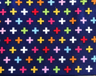 Remix Plus in Bright - *2 YARDS LEFT*, Robert Kaufman, 100% Cotton Quilting Fabric Apparel, Fabric by the Yard YARDS