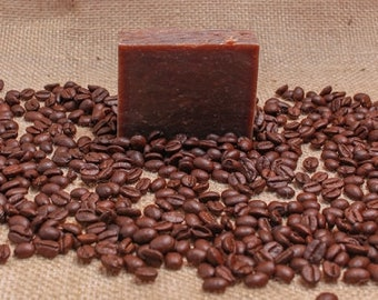 Scent Of The Month 2 Bars Of Fresh Brewed Coffee Plus Cedar Soap Saver Shipping Included