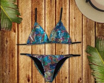 SAMÚ BEACHWEAR | Swimsuit Bikini new collection 2018 | mermaid set handmade