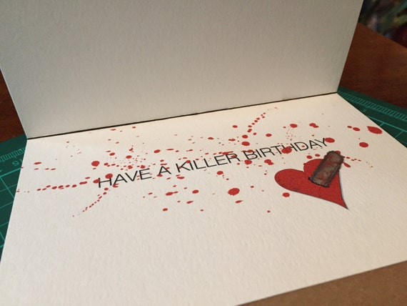 Texas chainsaw massacre leatherface birthday card bookmarktalkfo Gallery
