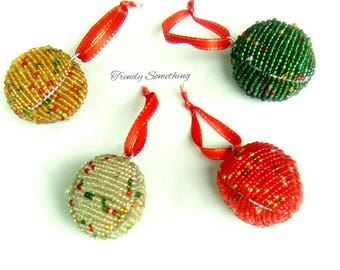 african christmas tree balls christmas tree set beaded christmas balls african christmas ornaments - African Christmas Decorations