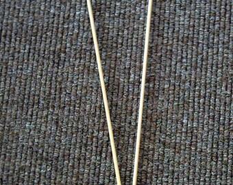Bamboo knitting needles 4mm