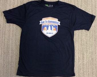 Blue Tech T-shirt - X-Large