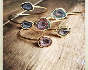 Druzy Bracelet,Druzy Braclet,Druzy,Geode Bracelet,Geode Braclet,Gold,Gold Druzy Bracelet,Druzy Jewelry,Druzy Braclet Gold ,Geode Jewelry