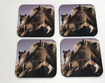 Miniature Horses / Ponies Coaster Set