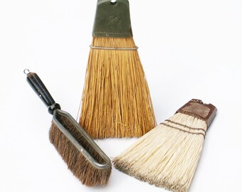 Whisk Broom Set of Three