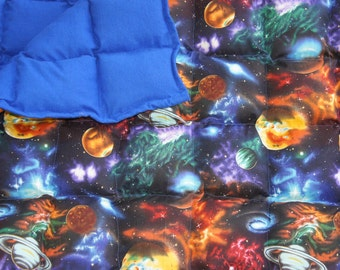 Large/twin/Adult  (38x70) Sized Weighted Blanket great for calming your sensory child or you.
