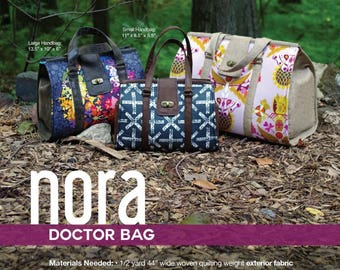 Nora Doctor Bag - Swoon Patterns - Bag Pattern