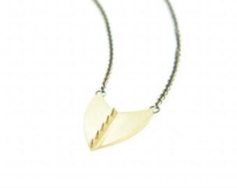 Handmade Shield Necklace