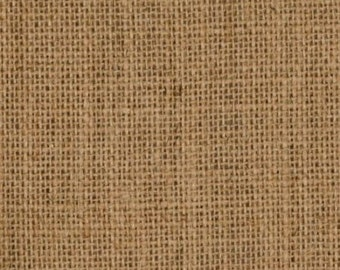 """40"""" Inch Natural Burlap - By The Yard"""