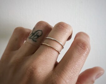 Heavy Coin ring