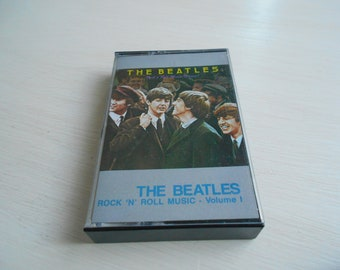 the BEATLES rock and roll music vol 1  cassette tape 1976