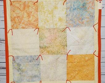 Orange batik #1