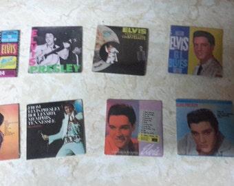elvis set of 8 sealed chu bops mini album sleeves 1981
