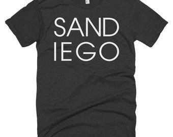 San Diego Letters T-shirt | San Diego California