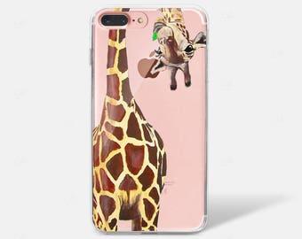 iphone 7 plus giraffe case