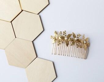 Cornelian Flower Hair Comb – Boho Bridal Hair accessories, flower hair accessories, pearls, bridal hair piece, Wedding, hairpin, hair stick