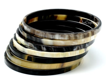 Horn Bangle Bracelets - Q9900