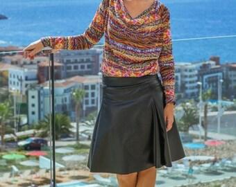 LAILA flared skirt / jersey skirt pattern, sizes 158 – 42 (Kids M–women L) / INSTANT DOWNLOAD