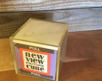 Retro New View Picture Cube