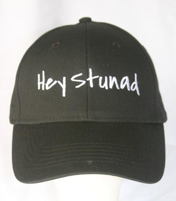 Hey Stunad (Polo Style Ball Black with White Stitching)