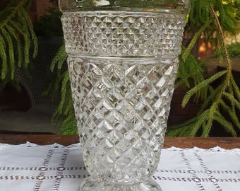Anchor Hocking Wexford Pattern Vase